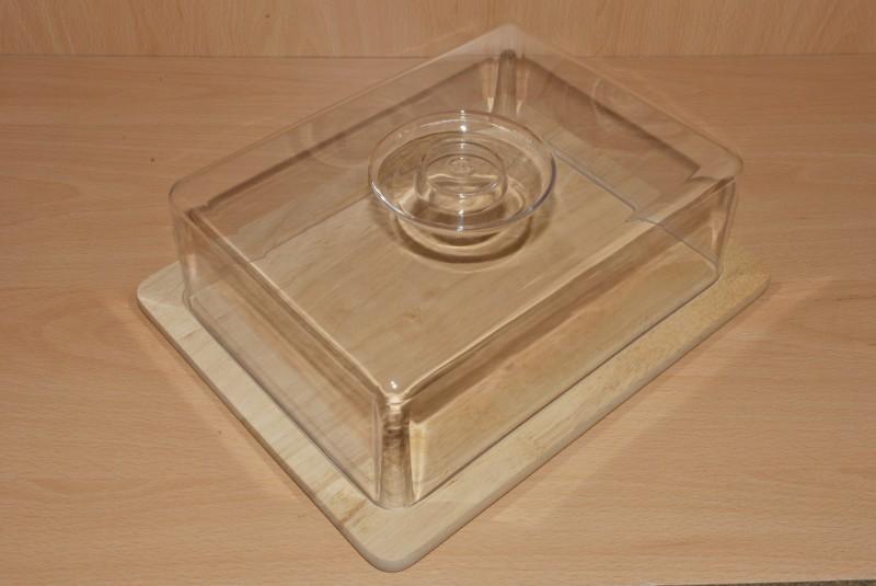 k seglocke eckig glocke servierplatte frischhaltebox k sebox ebay. Black Bedroom Furniture Sets. Home Design Ideas